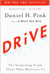 Drive: The Surprising Truth About What Motivates Us -Daniel H. Pink