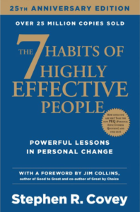 The 7 Habits of Highly Effective People Powerful Lessons in Personal Change Stephen R. Covey