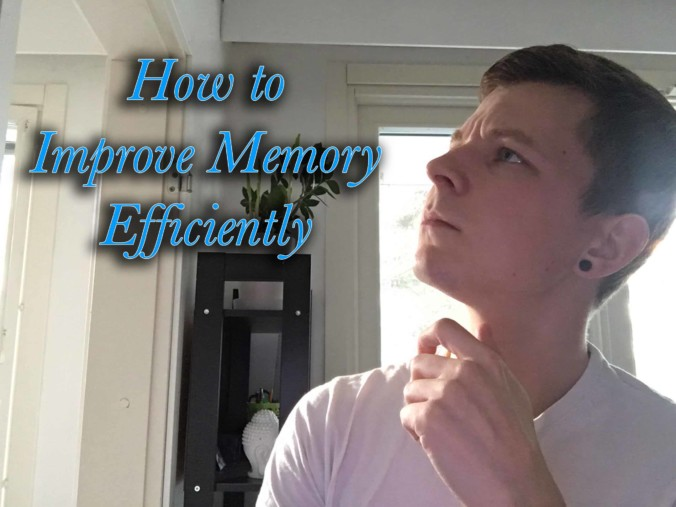 How to Improve Memory Efficiently